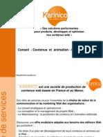prez karinico-Web Content for efficient