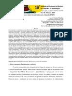História para o ensino da matemática nos artigos do ENEM