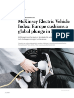 McKinsey Electric Vehicle Index Europe Cushions a Global Plunge in EV Sales VF