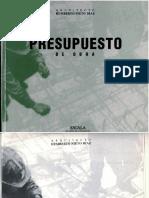 Presupuesto de Obra - Humberto Nieto Díaz