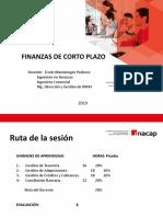 FINANZAS DE CORTO PLAZO
