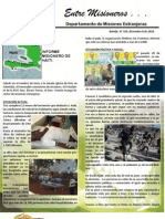 Boletin 192 Informe Misionero de Haiti - Diciembre 8 de 2010