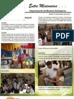 Boletin 193 Informe Misionero Del Paraguay - Diciembre 10 de 2010