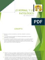 SESION N° 2 LO NORMAL Y LO PATOLÓGICO