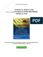 basic-surgical-skills-and-techniques-from-jaypee-brothers-medical-pub