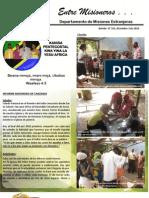 Boletin 191 Informemisionero Tanzania - Diciembre 3 de 2010