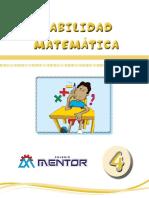 Habilidad Matematica_4TO_II_TRIM