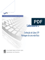 Lab1 - Confeccao de Cabos UTP