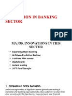 INNOVATION IN BANKING SECTOR