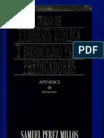 Exegesis Romanos  Samuel Perez Millos