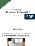 Evaluación El fantasma de Canterville
