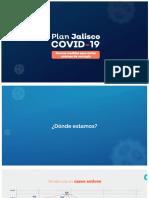 Plan Jalisco Covid-19 | Nuevas medidas para cortar cadenas de contagios