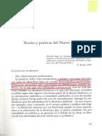 Teorías y poéticas del Nuevo Cine. Lino Micciché