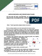 EFECTELE AEROIONIZARII NECORESPUNZATOARE - NEGOITA NICOLAE
