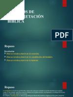 3 y 4 - Metodos de interpretación