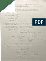 Applications of Logarithms Homework