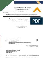 TESIS. MERCADO DE PRODUCTOS ORGANICOS Y ARTESANALES