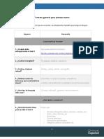 3 Formato - Plan de texto