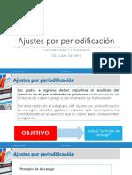 1. Presentación - Periodificación