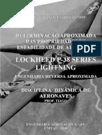 Dinamica de Aeronaves - Eng Reversa p38 - Alessandro-2008-Unitau