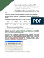 la console de récupération sous Windows XP.pdf