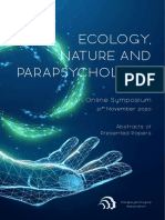 Ecology, Nature and Parapsychology