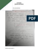 ACTIVIDAD MAPA CONCEPTUAL NATURALES JUAN DAVID COBO OCAMPO 7-1