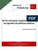 7-Estevez, de las anarquìas organizacionales a las agendas de políticas públicas.pdf