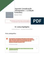 Notes from _Segunda Consideração Intempestiva_ 1 (Coleção Conexões)_.docx