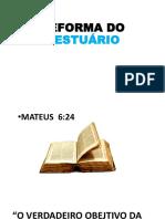 REFORMA DO VESTUÁRIO PDF