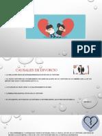 diapositivas casuales de divorcio