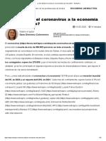 ¿Cómo afecta el coronavirus a la economía y los mercados_ - RankiaPro