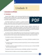 QUALIDADE DE SOFTWARE QUALIDADE DE SOFTWARE Unidade II