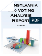 PA 2020 Voter Analysis Report