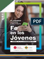 Programa XX Congreso Católicos y Vida Pública