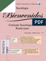 CORRIENTE SOCIOLÓGICA DEL POSITIVISMO