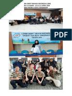 Lomba Debat Bahasa Indonesia 24 April 2019
