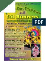 Mardi Gras - 11x17 Poster Proof