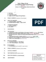 02 Feb 15 2011 Regular DRAFT Agenda