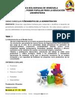 ADMINISTRACION TEMA 3 PNFA