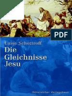 Schottrof, Luise - Die Gleichnisse Jesu