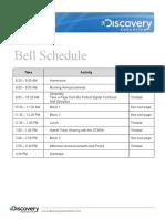 DEN PETE&C PreCon Schedule 2011