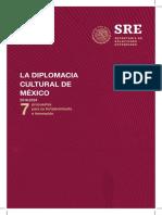 Diplomacia Cultural en Mx 2018 2022 SRE DC