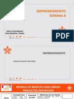 PRESENTACION SEMANA 8. MODELO NEGOCIO LEAN CANVASpptx