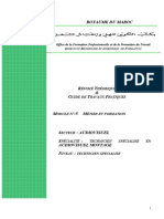 M05 Métier Et Formation en Audiovisuel-AV-TSA Option MONTAGE