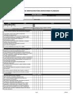 LIP3-04 Listado de verificacion instalaciones electricas Inspecciones Planeadas