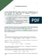 LABORATORIO 6.  AGLOMERANTES