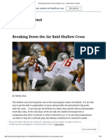 Breaking Down the Air Raid Shallow Cross – Wesley Ross Football
