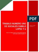 TRABAJO NUMERO 1 CAMILO LOPEZ 7-1