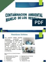 5. CONTAMINACION  AMBIENTAL ,MANEJO  DE LOS  RESIDUOS NUEVO.